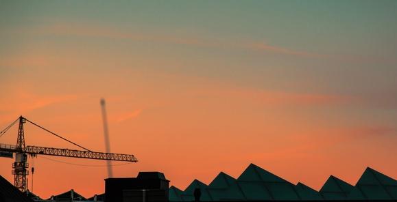 Crane Sawtooth Roof