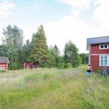 Huset, lillstugan och uthuslängan