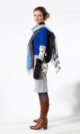 Modevisning på Affären av Jimmy Lilja