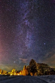 vintergatan. Milky-Way.