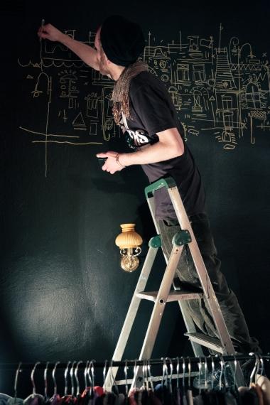 Fredrik Wimmerkranz Vernissage Tekocirkeln