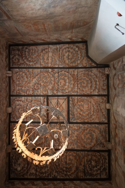 Taket i Hackås kyrka